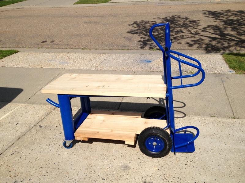 Recent Project 250ex Welding Cart From Hell